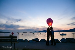 Beach, Beautiful Vancouver, By the sea, Engagement session, Engagement session at night, night time session, Water